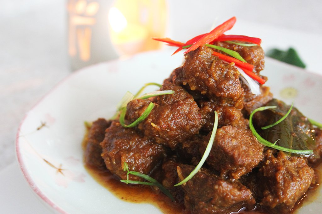 Beef Rendang (Beef Curry) | foodelicacy