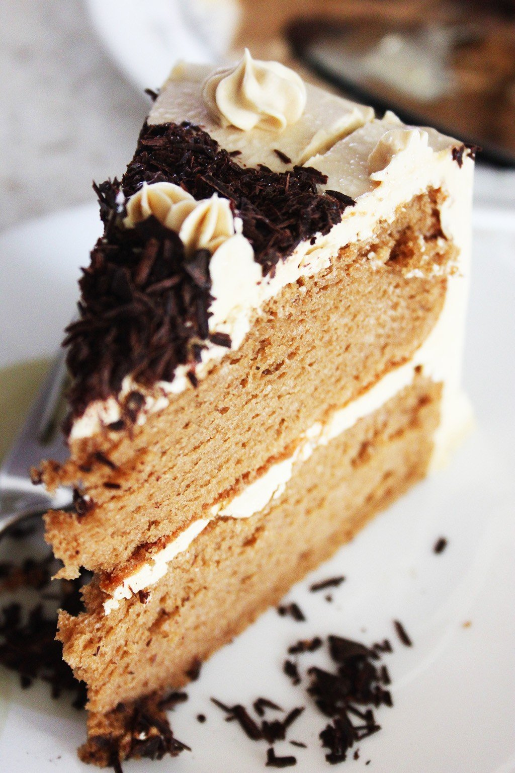 Coffee Chiffon Cake Foodelicacy