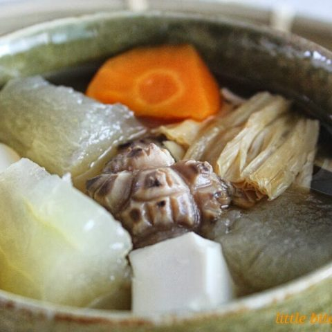 Winter Melon Soup with Bean Curd & Chinese Mushroom