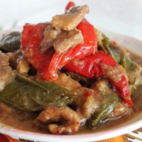 Pork in Tamarind Sauce (Babi Assam)
