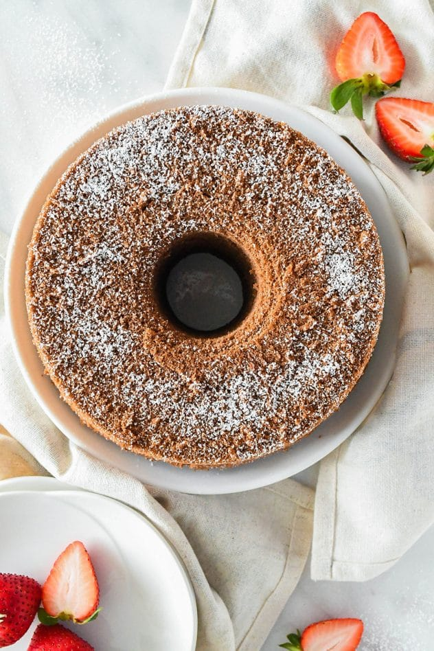 Cotton-Soft Chocolate Chiffon Cake