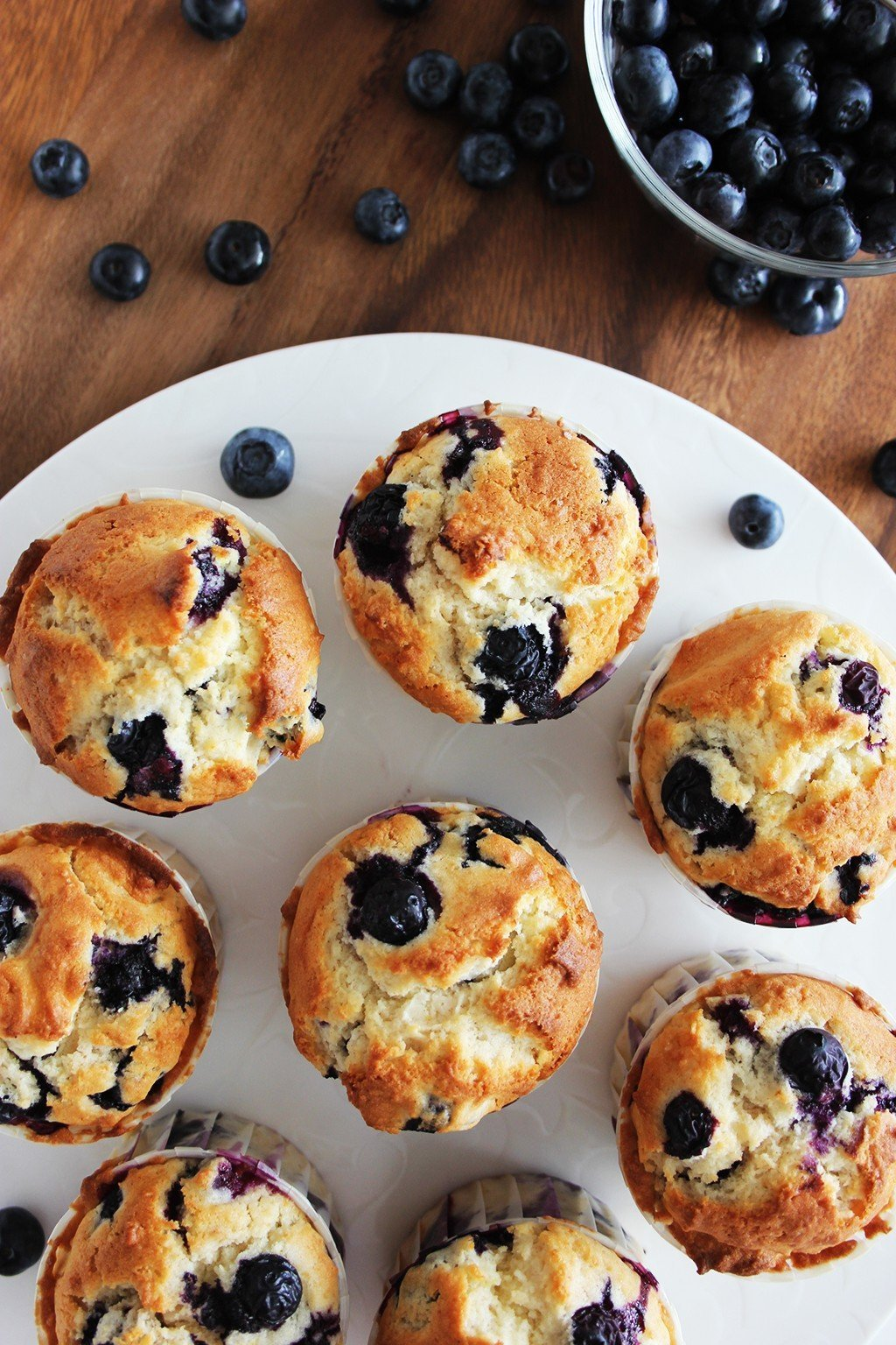 Best homemade blueberry muffins