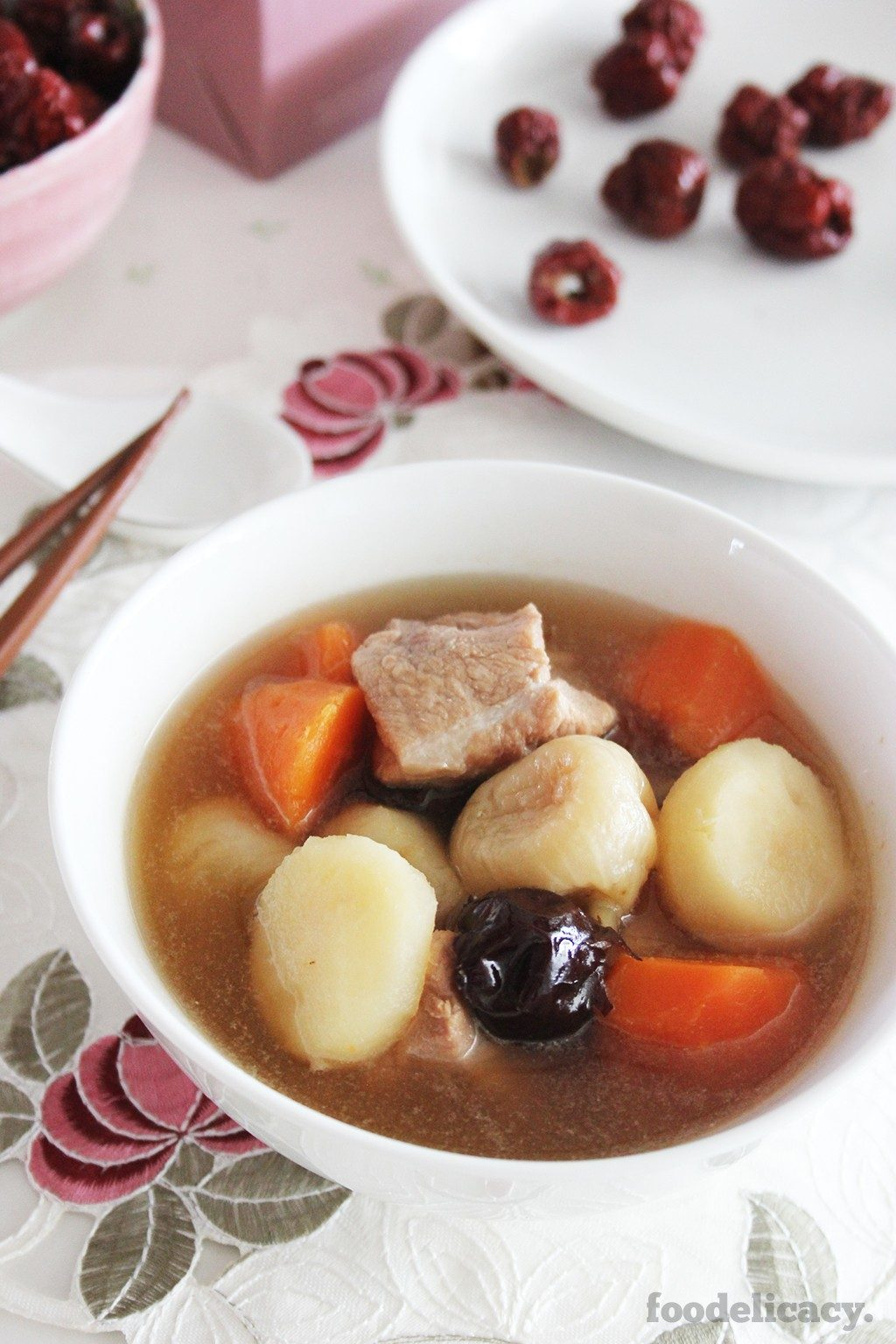 Water_Chestnut_and_Pork Ribs_Soup_1F