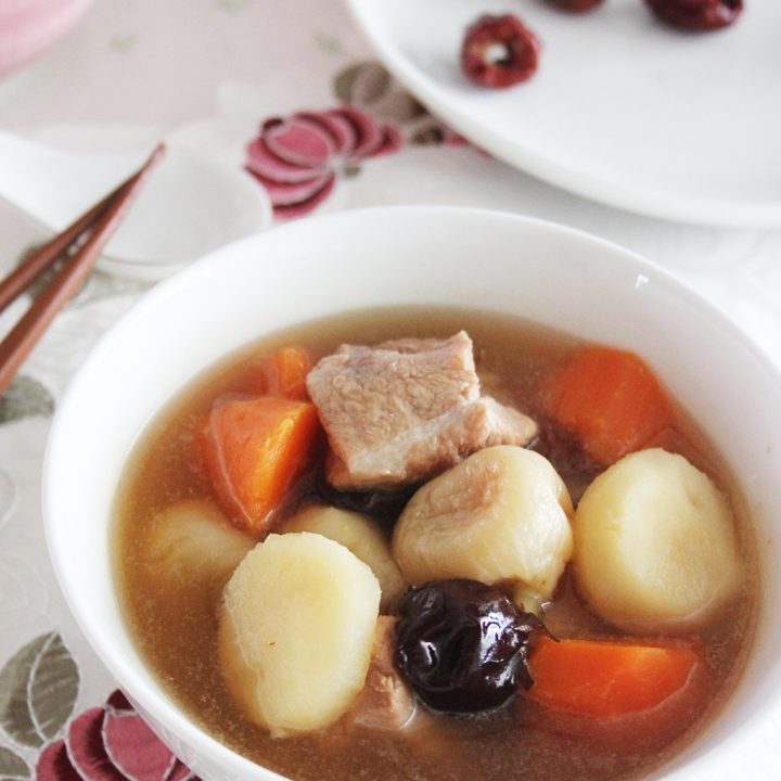 Water Chestnut & Pork Ribs Soup