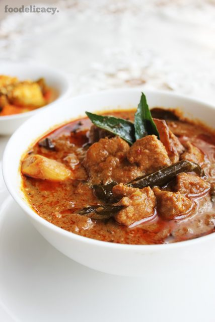 assam pork curry