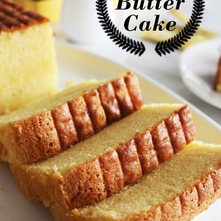 Very Rich Butter Cake