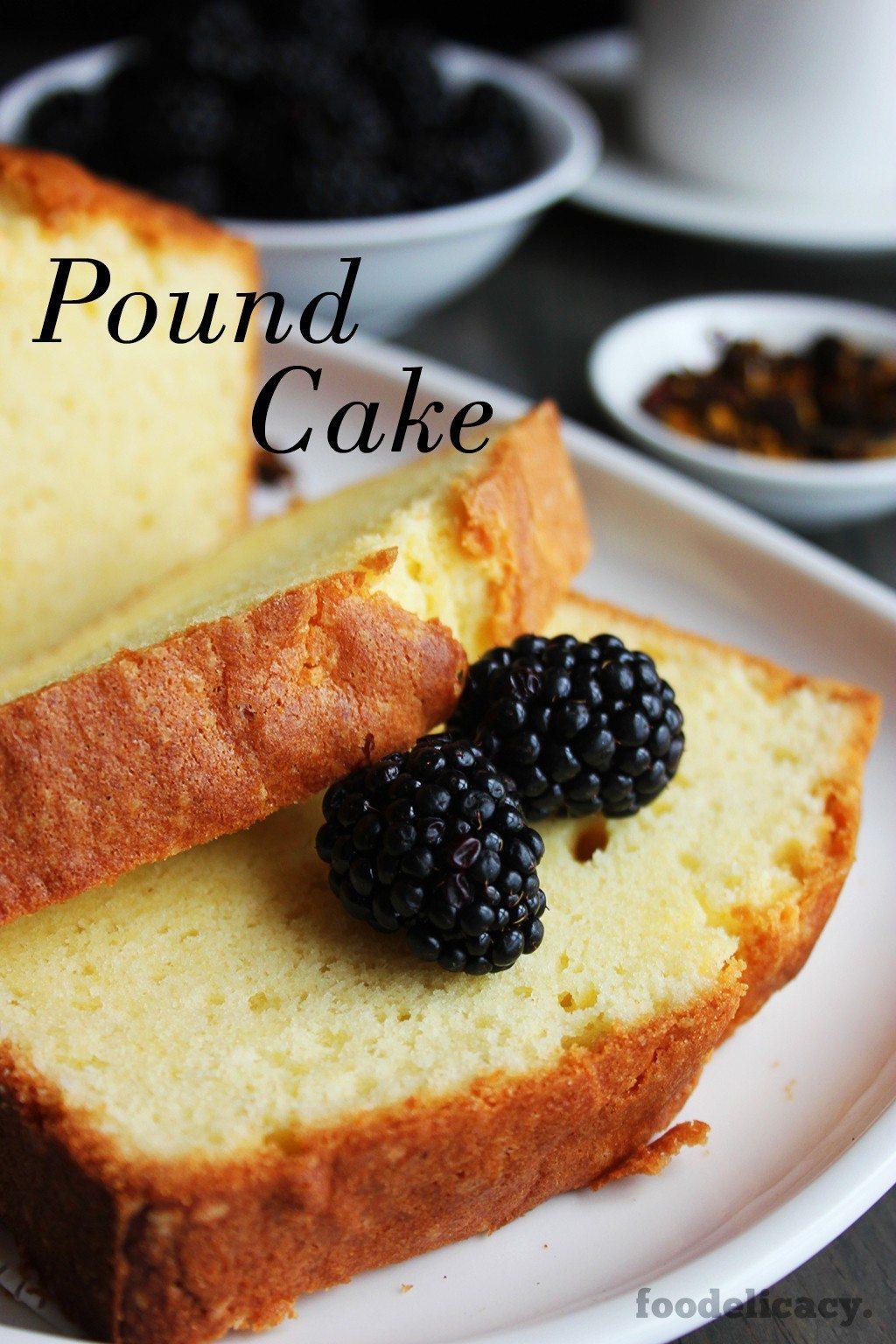The Best Pound Cake Recipe