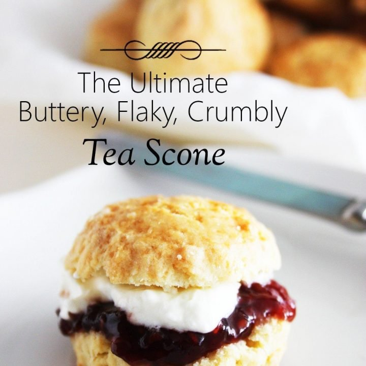 The Ultimate Tea Scone