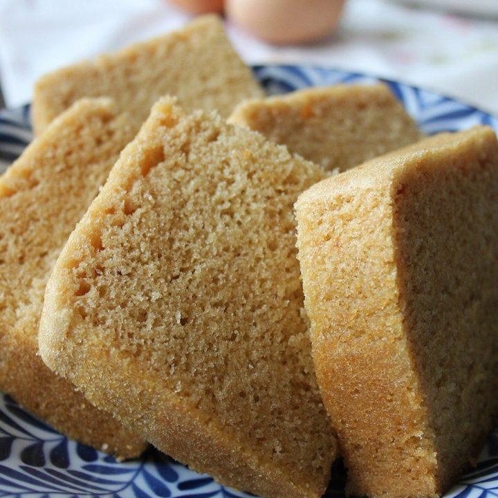 Chinese Steamed Sponge Cake (Ma Lai Gao - 馬拉糕) - Quick Method