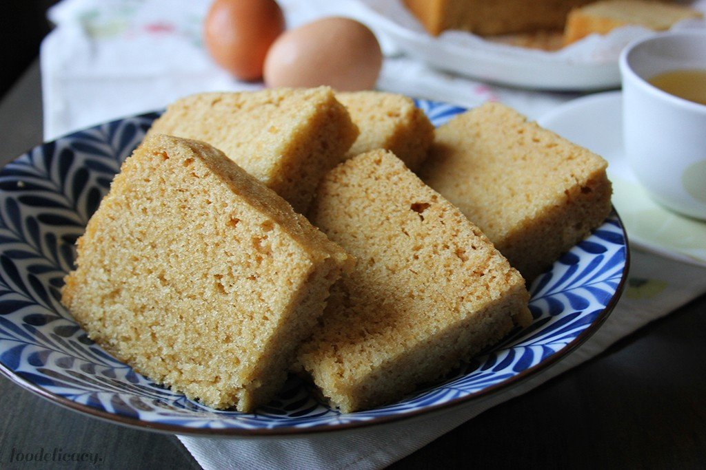 Cantonese Steamed Sponge Cake Recipe
