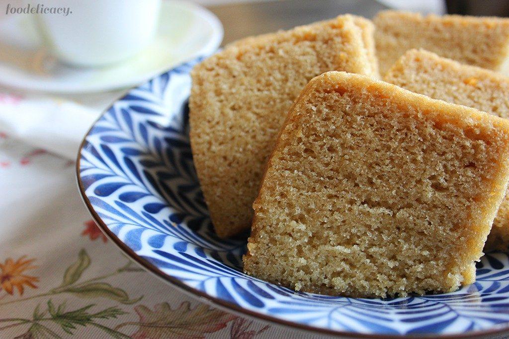How To Make Sponge Cake With Egg Flour And Sugar