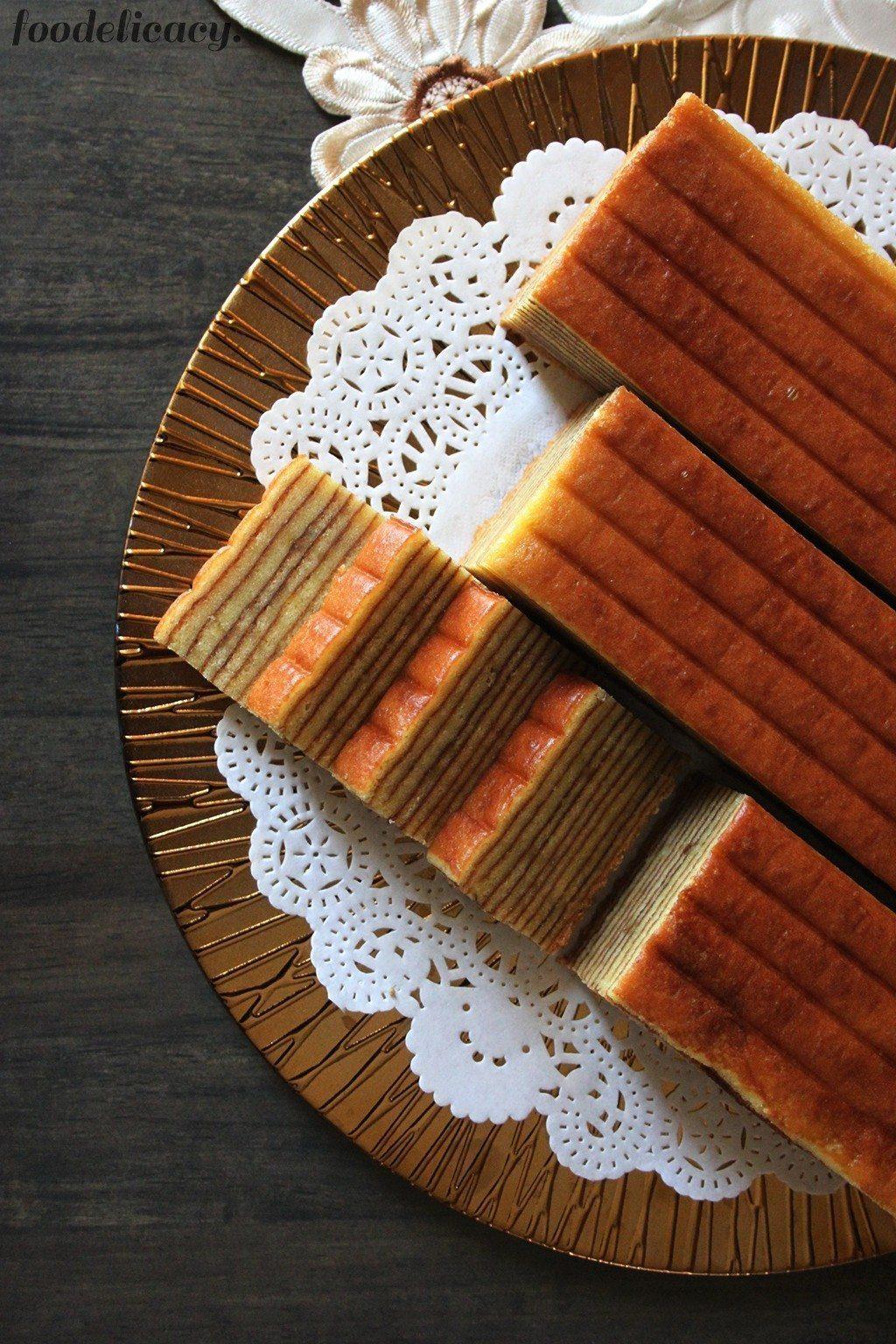 Indonesian Durian Layer Cake / Durian Lapis Cake