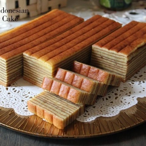 Durian Indonesian Layer Cake