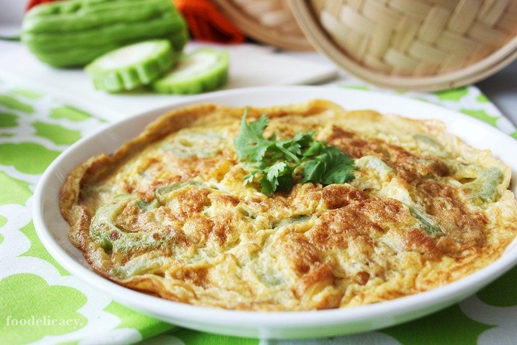 Bitter_Gourd_Omelette_1