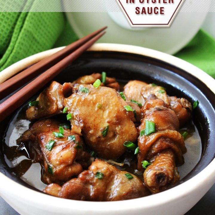 Braised Chicken in Oyster Sauce