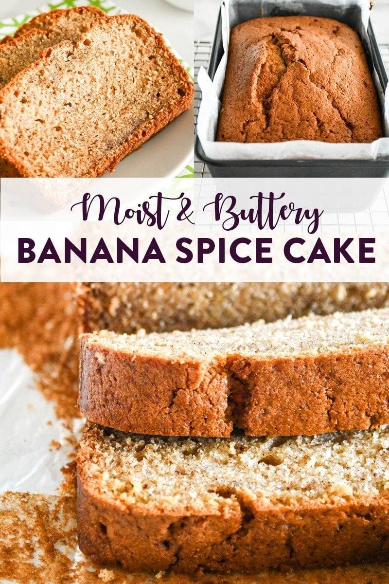 Banana Spice Cake Pinterest