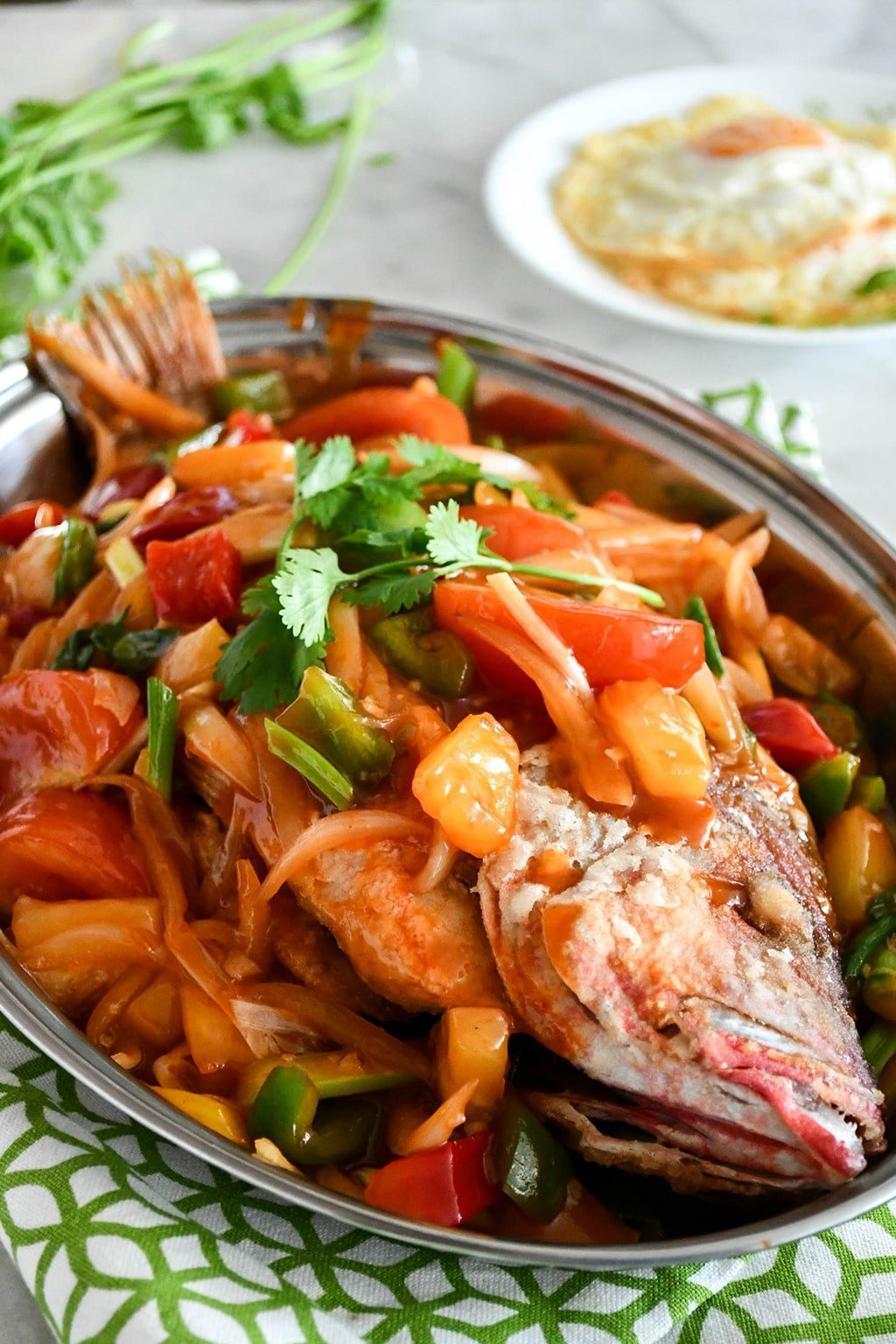 Superior Sweet and Sour Fish (Whole Fish Serving)