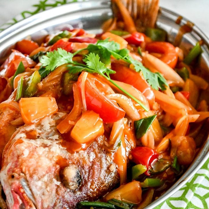 Superior Sweet and Sour Whole Fish