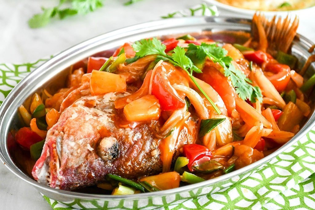 Chinese-Style Superior Sweet and Sour Whole Fish