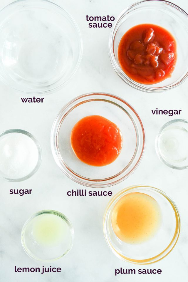 sweet and sour fish sauce ingredients