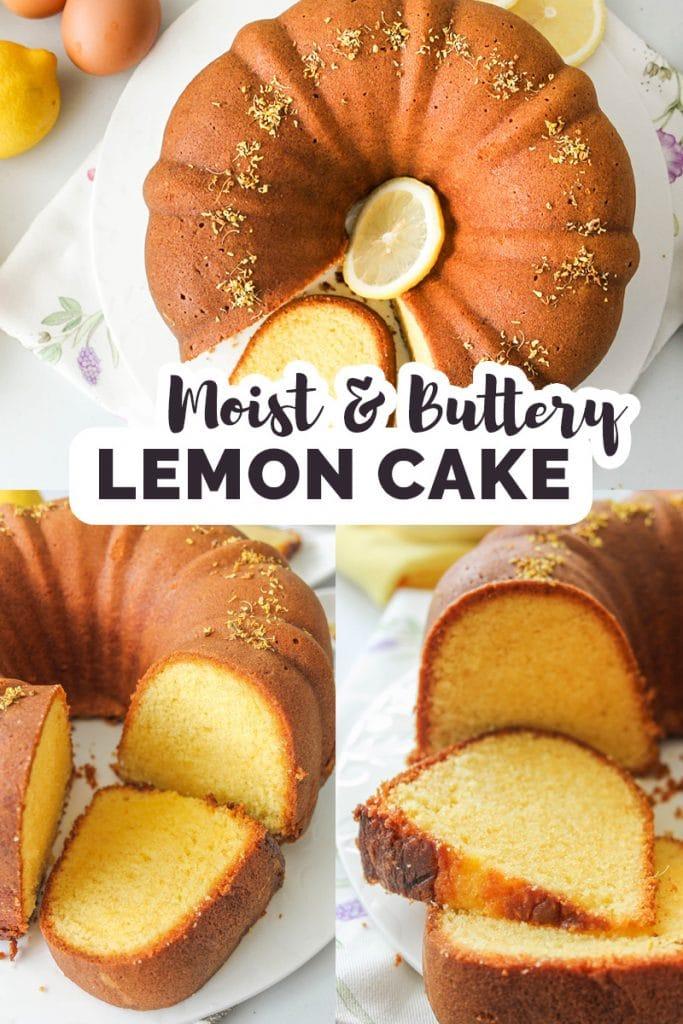 Lemon Cake Featured Pinterest
