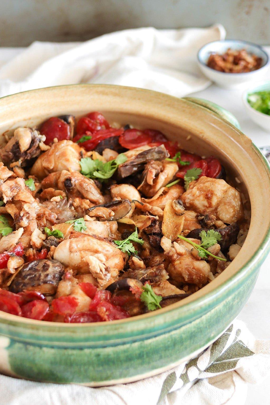 the best claypot chicken rice