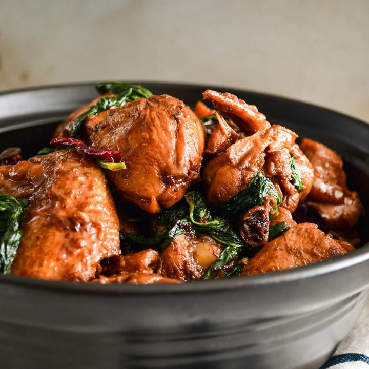 Three Cup Chicken Recipe