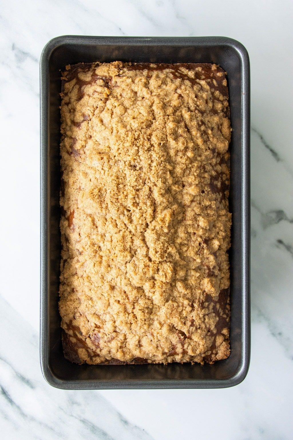 Cranberry pecan loaf cake