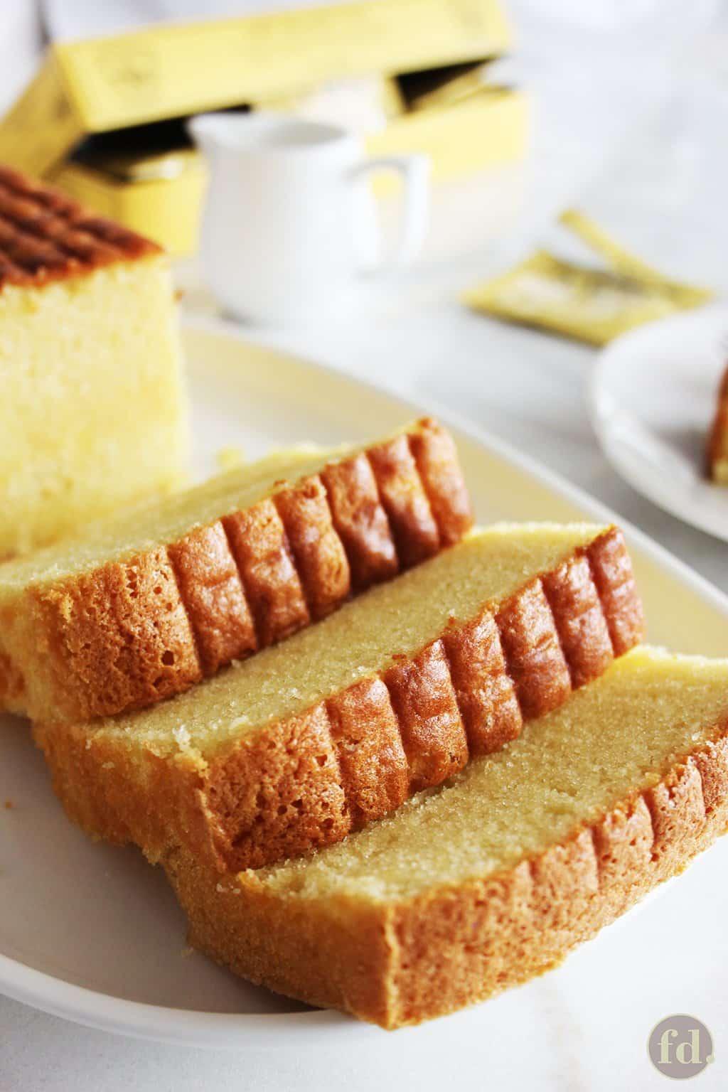 Very rich butter cake
