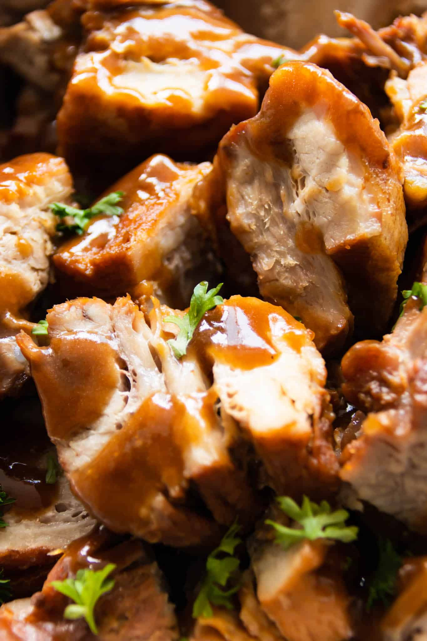 Braised pork in soy bean paste