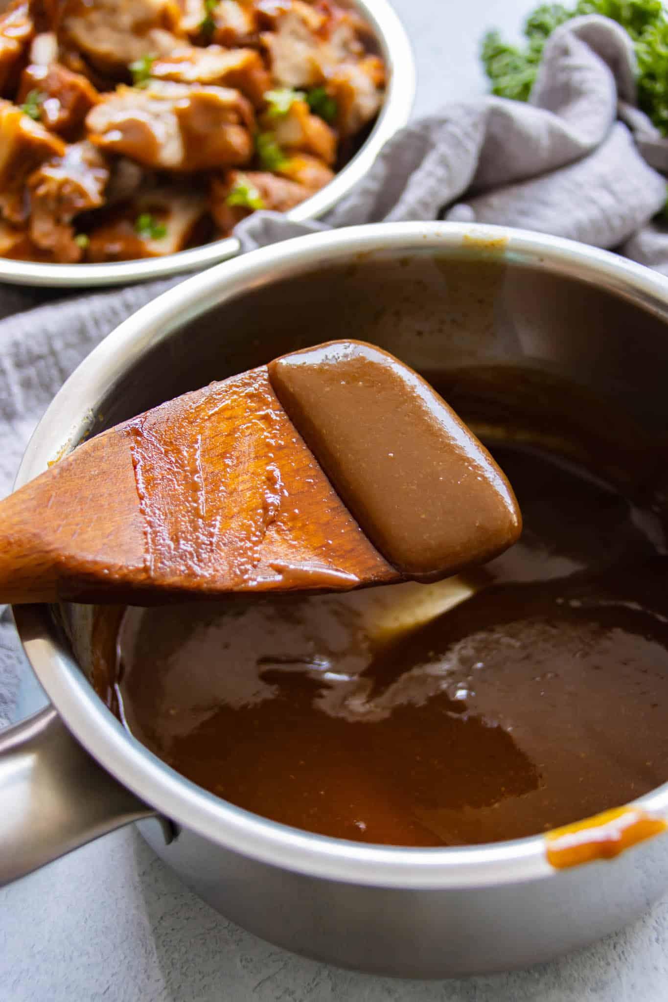 soy bean paste sauce for braised pork