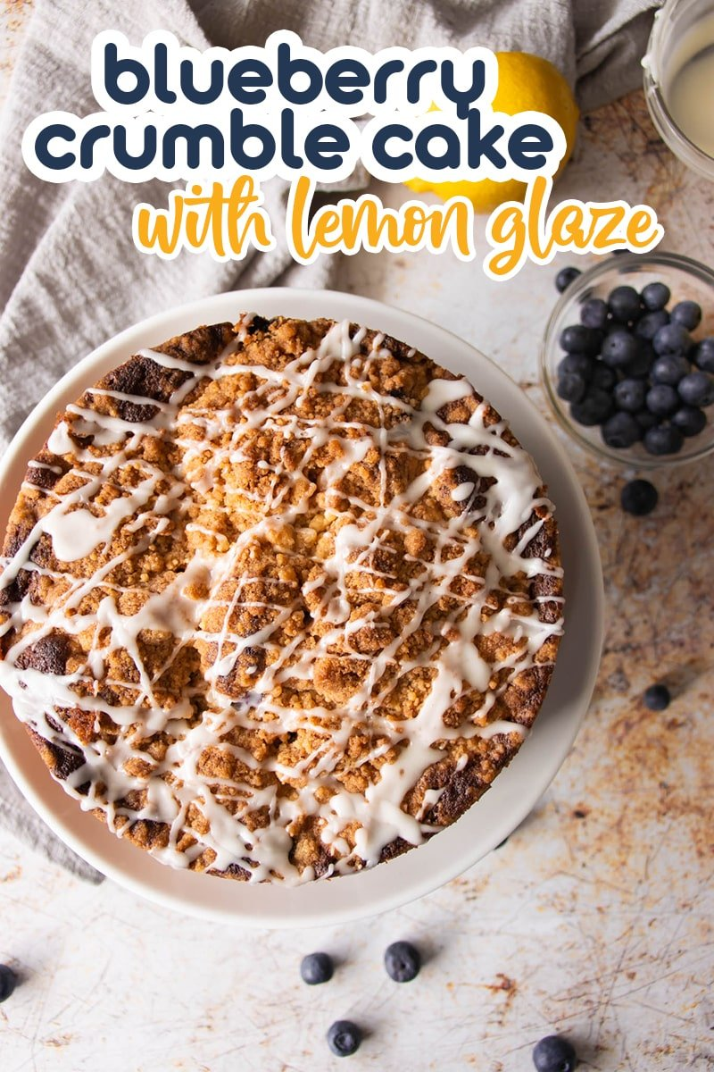 This is a delightful blueberry crumble cake you'll be proud to serve family and friends. Moist as can be, with a tender buttery crumb, sweetened with juicy blueberries, and a sweet cinnamon crumble topping. Don't miss out on the lemon glaze - it's utterly scrumptious! via @foodelicacy